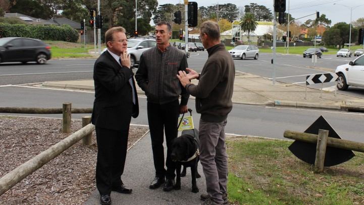 Billson calls for pedestrian safety upgrade at dangerous intersection in Mt Eliza