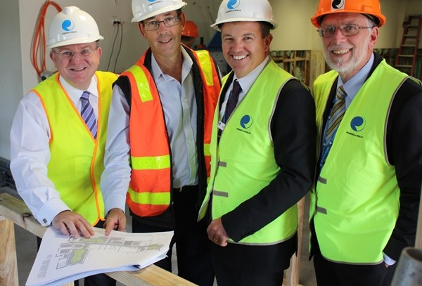 Work underway on $650,000 upgrade to improve oncolocy unit at Frankson Hospital