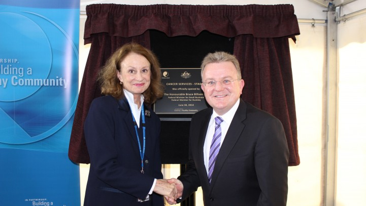 Billson officially opens $3 million oncology upgrade at Frankston Hospital